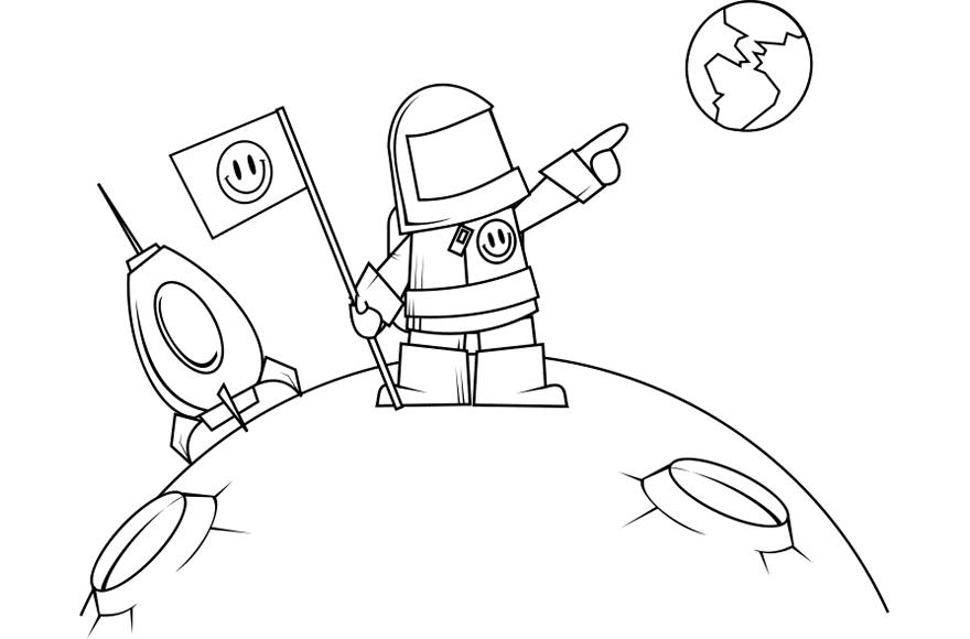Astronauta - Edudiver.com