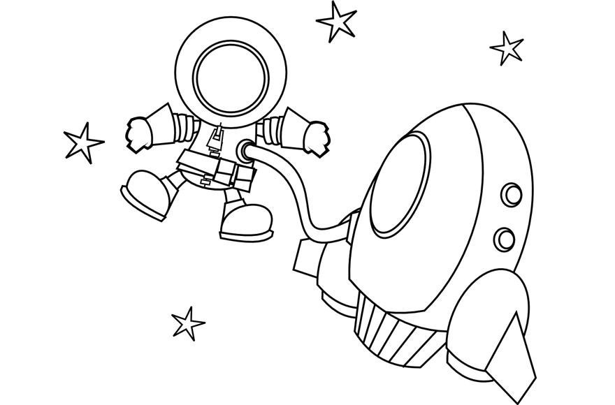 Dibujos astronautas imagui - Dibujos infantiles del espacio ...